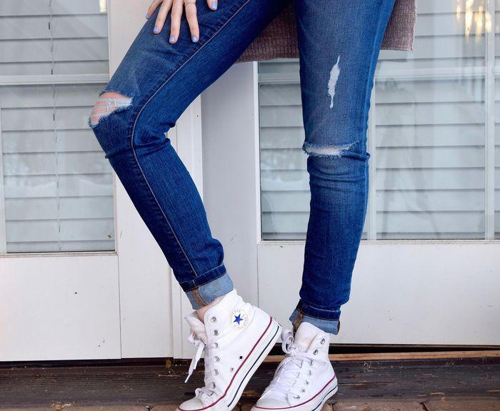 Damskie trampki Converse